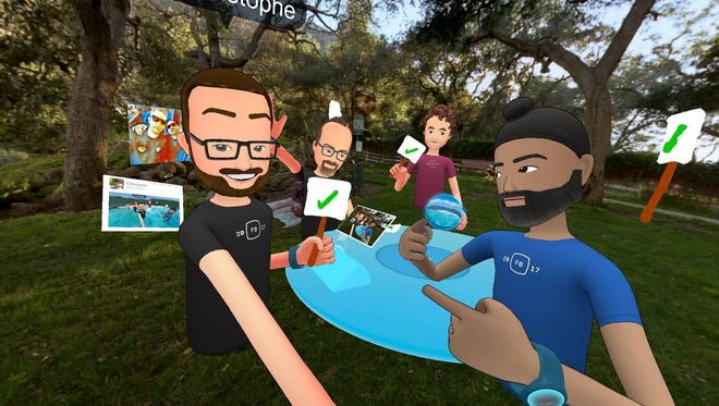 Facebook Spaces is a new social VR hang out area that allows owners of Oculus Rift and Touch to interact in virtual reality.