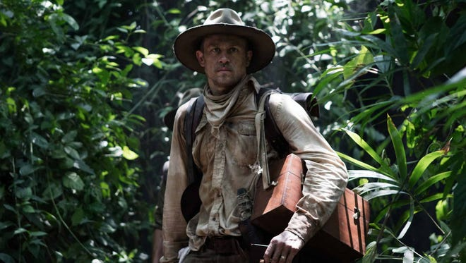 "Jungle love: Charlie Hunnam is an intrepid British explorer in ""The Lost City of Z."""
