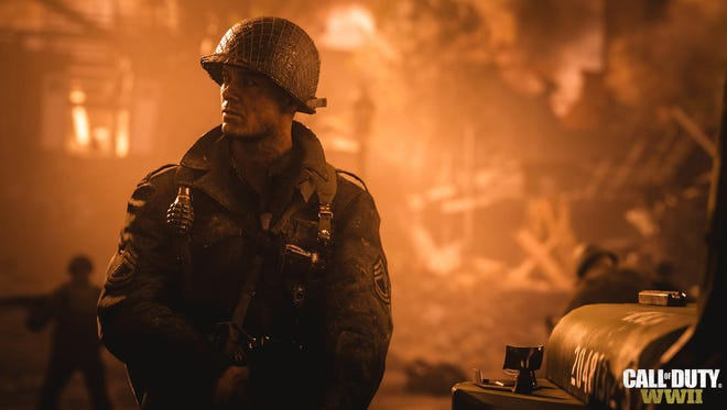 A scene from 'Call of Duty: WWII.'