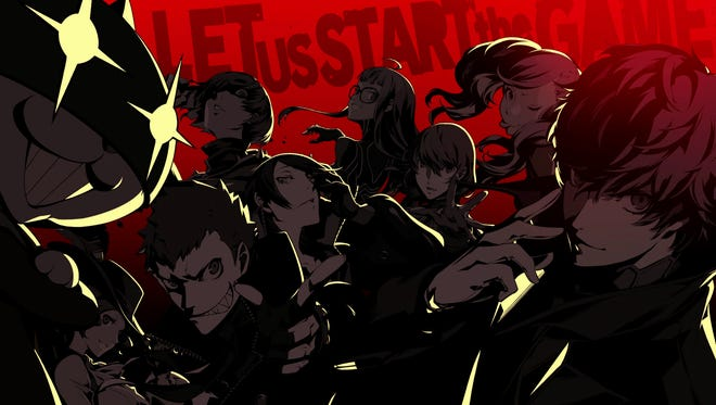 Say hello to Persona 5's cast.