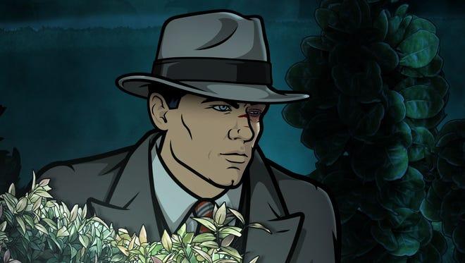 Sterling Archer, voiced of H. Jon Benjamin, on FXX's 'Archer.'