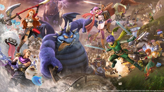 Dragon Quest Heroes 2.