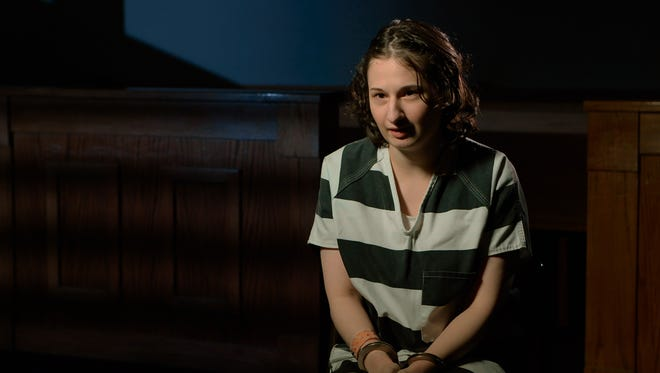 "Gypsy Rose Blanchard in a scene from ""Mommy Dead and Dearest."""