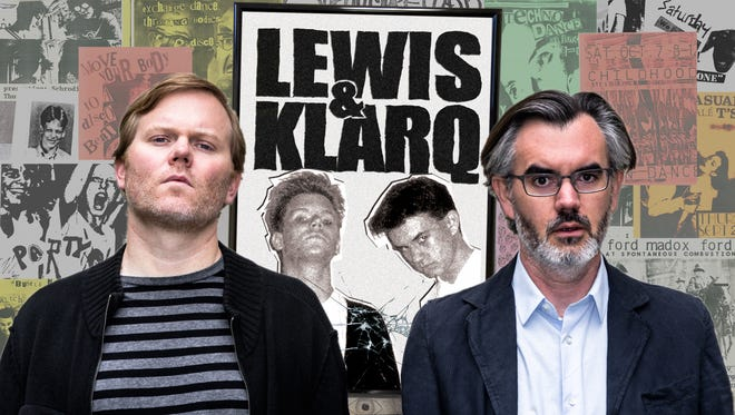 "The poster for the film ""Lewis & Klarq."""