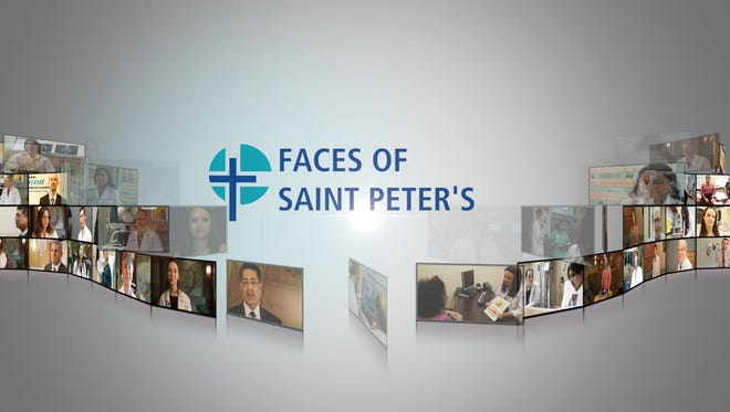 Faces of Saint Peter's.