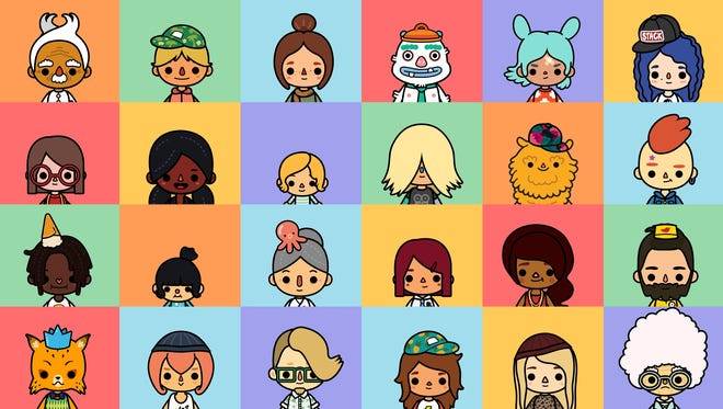 Toca Boca shows a wide diversity in its characters.