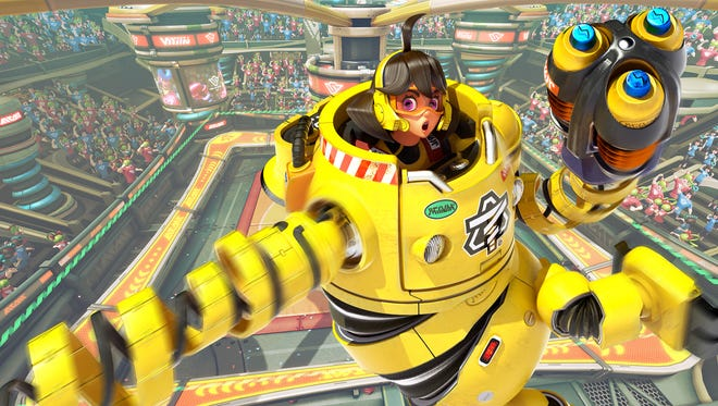 Mechanica adds some heavy metal to ARMS for the Nintendo Switch.