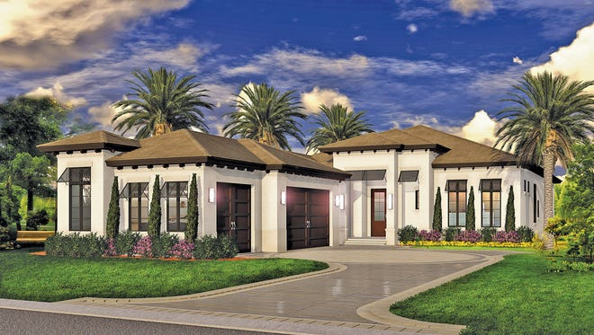Vogue Interiors is designing the interior of the Dominica single-family villa being built by Gulfshore Homes in Westlake at West Bay Club.
