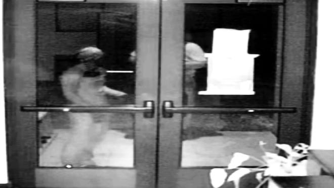 Rutherford County Sheriff's Office enhanced video images of suspected vandals at the Islamic Center of Murfreesboro.