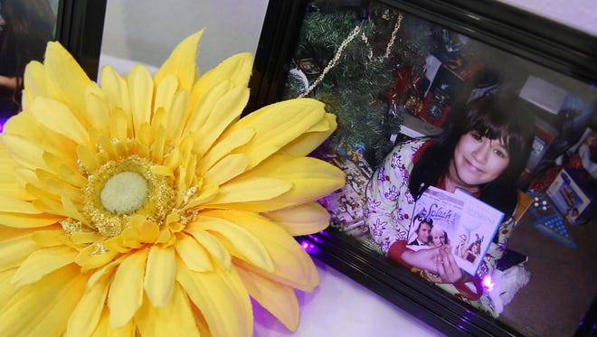 Family photos of Sarah. A celebration of the life of Sarah Lee Stern is held at the Neptune Community Center. Friends, family, and members of the community gathered to comfort one another.Neptune City, NJSaturday, July 15, 2017@dhoodhood