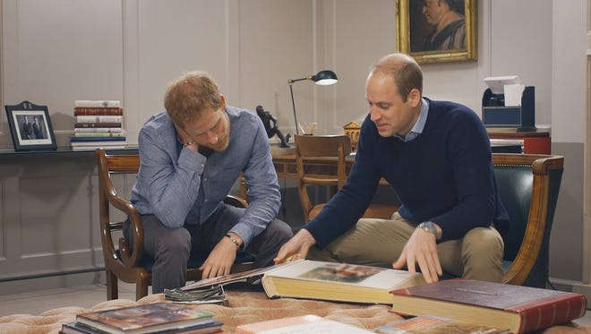 Prince Harry of Wales and Prince William, Duke of Cambridge remember their mother on the HBO special  'Diana, Our Mother: Her Life and Legacy.'