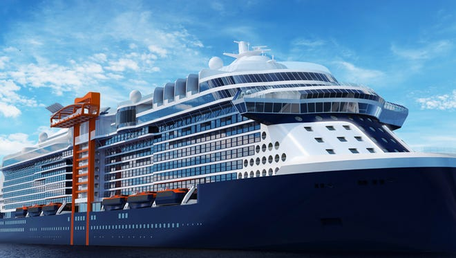 Celebrity Cruises will launch a new series of vessels in 2018 with the debut of Celebrity Edge, a 117,000-ton ship that will hold 2,900 people at double occupancy.