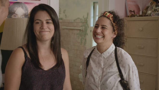 Abbi Jacobson, left, and Ilana Glazer return for Season 4 of Comedy Central's 'Broad City' on Sept. 13.