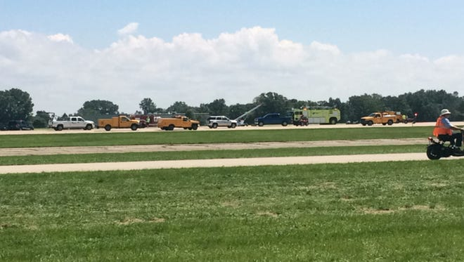 A runway at Wittman Regional Airport closed Friday afternoon after an incident on a runway.
