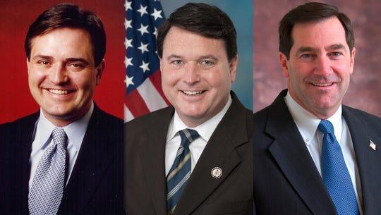 From left: Congressman Luke Messer, Congressman Todd