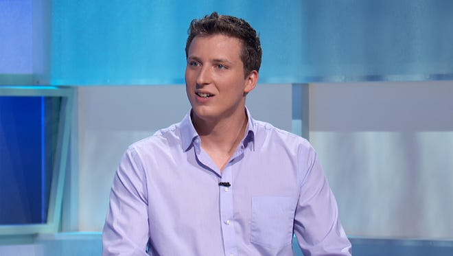 "Louisville native Conor Halbleib appears on Game Show Network's ""Snap Decision"" on Aug. 7."