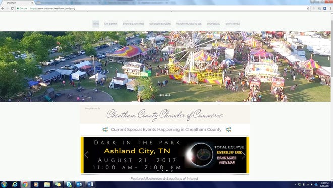 The Cheatham County Chamber has launched a new tourism website.