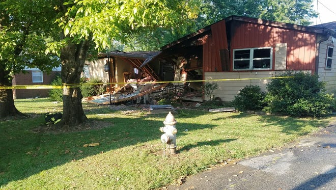 Humboldt Fire Chief Chester Owens confirmed one woman was injured after a house exploded on Avondale Street.