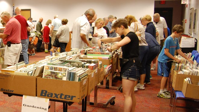The Friends of Mead Public Library will hold a used book sale Oct. 26-28 in the Rocca Room at Mead Public Library.