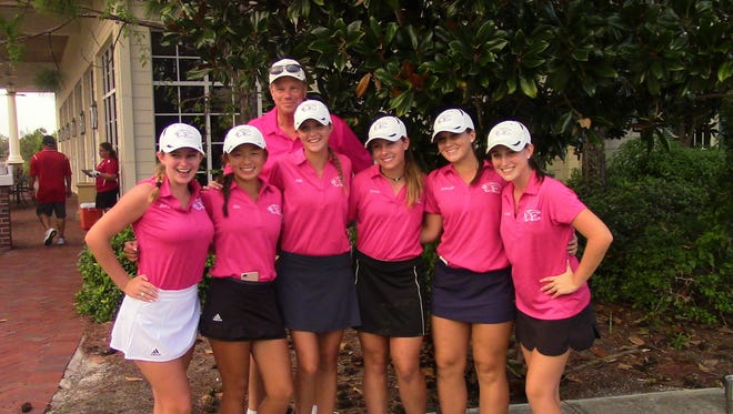 Led by medalist Kelli Kragh's 74 and Kim Egozi's 75, Estero's 337 total earned them the Girls LCAC Championship on Thursday at Magnolia Landing in North Fort Myers. Wildcat team members: Kelli Kragh, Kim Egozi, Meredith Brown, Mackenzie Brown, Emma Brown; head coach Norm Heyboer