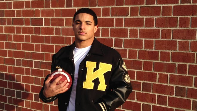 "Former Kenwood quarterback Malcolm Perry ran for more than 1,600 yards and passed for another 800 yards as the Knights returned to the 5A playoffs for the third straight year during his senior year. Perry, who plays at the Naval Academy, will be featured in a Showtime episode of ""A Season With Navy Football""."