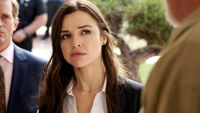 """El Pasoan Jessica Meraz stars as Detective Camila Paige in TNT's hit police drama, """"Major Crimes."""" Meraz joins the cast in the show's sixth and final season, premiering Tuesday on TNT."""