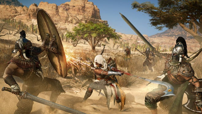 Pyramid Schemes Assassin S Creed Origins Review Technobubble