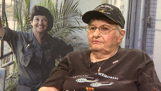"""Frances Williams was among the Vietnam veterans from New Mexico interviewed for KRWG's """"Our Stories: Vietnam,"""" a three-part series airing at 7 p.m. Nov. 13–15 on KRWG-TV, channel 22."""