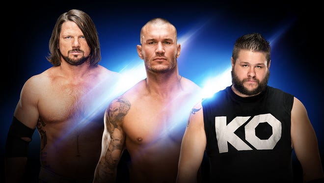 """WWE returns to the Resch Center with """"SmackDown Live"""" on March 6."""