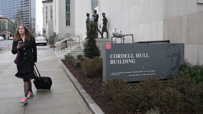 Cordell Hull BuildingTuesday Jan. 09, 2018, in Nashville, Tenn