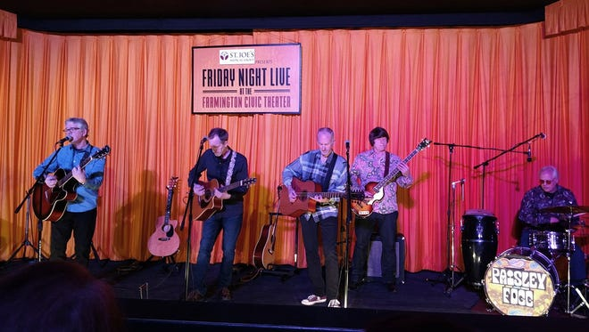 The Paisley Fogg opens the winter concert series Friday, Jan. 19, at the Farmington Civic Center.