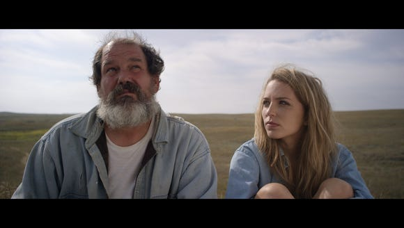 Actors Jessia Rothe and Bates Wilder in the independent