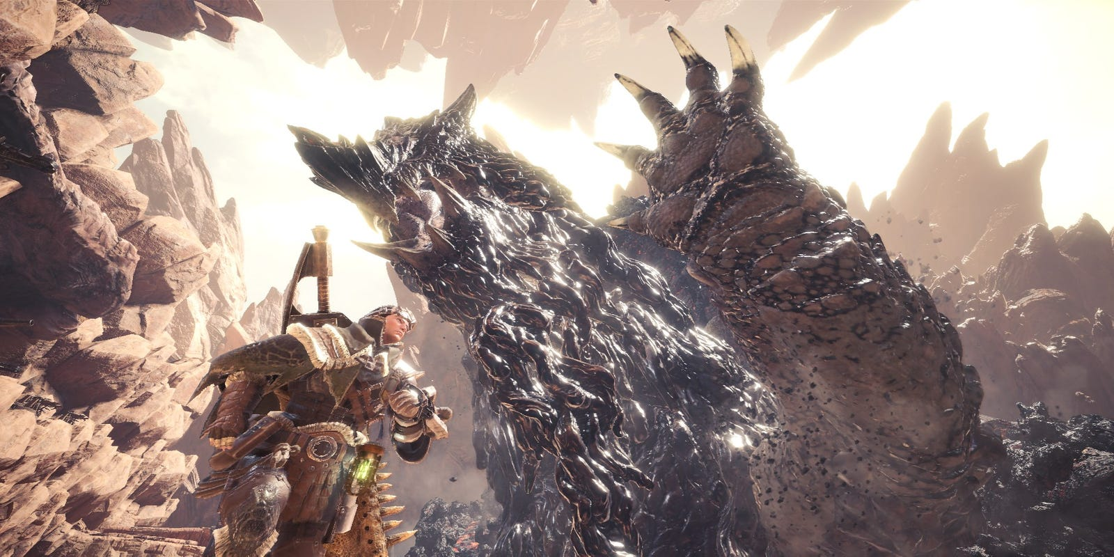 Perfect 10? Monster Hunter World is literally a game changer