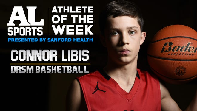 Athlete of the Week: Connor Libis, Dell Rapids St. Mary