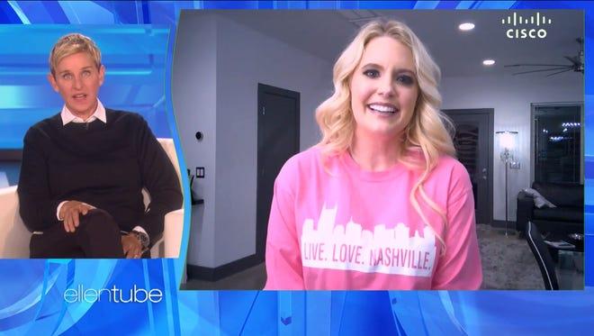 """Hendersonville's Taylor Rowe appeared on """"The Ellen DeGeneres Show"""" Jan. 29, 2018."""