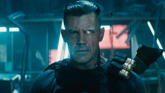 Josh Brolin shows off Cable in 'Deadpool 2'