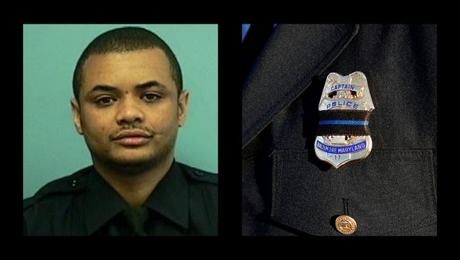 Baltimore Detective Sean Suiter was shot in the head Nov. 15, 2017, and died the next day.
