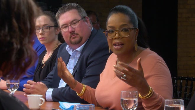 Oprah Winfrey, a '60 Minutes' correspondent, reconvened a panel of voters from Grand Rapids, Mich., to learn how they feel about Trump a year into his presidency.