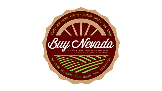 The logo for the Buy Nevada program, which promotes food and products made in the Silver State.