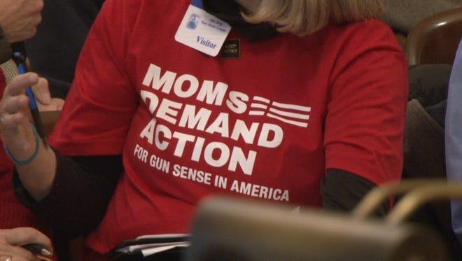 The public speaks about gun control in Trenton