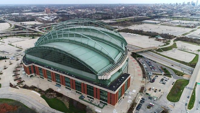 Miller Park in Milwaukee on Tuesday, November 21, 2017.
