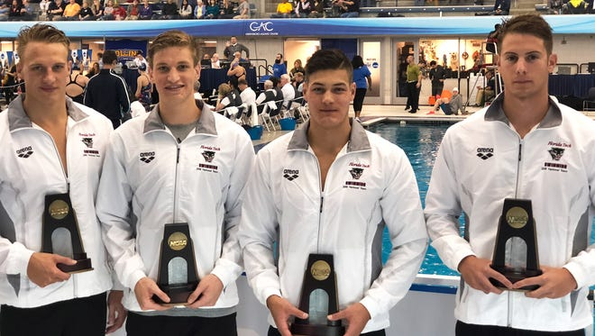 Florida Tech men's swimming, 200-yard freestyle relay