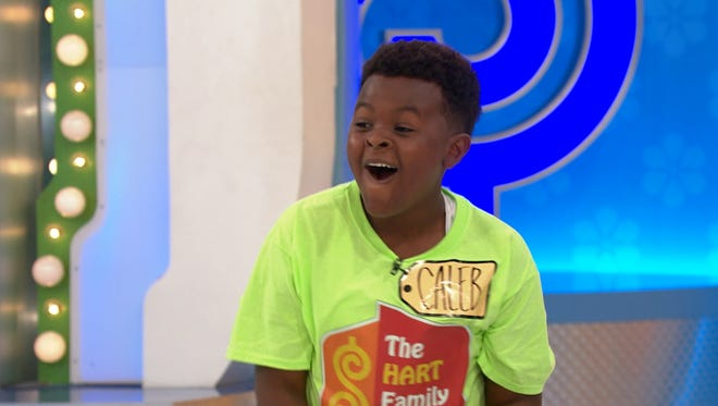 """The """"Price is Right"""" episode featuring Simi Valley's Caleb Hart, 11, and his dad Delsean will air Wednesday on CBS."""