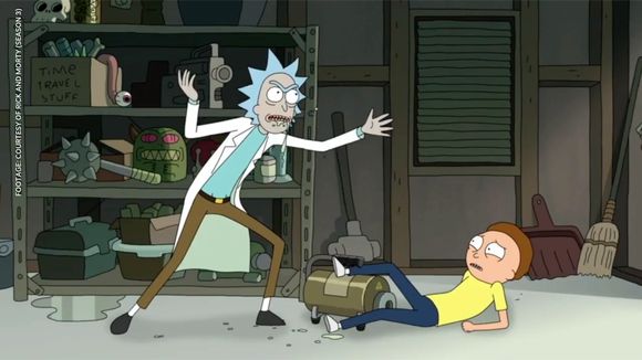 Rick and Morty is available to stream on Hulu