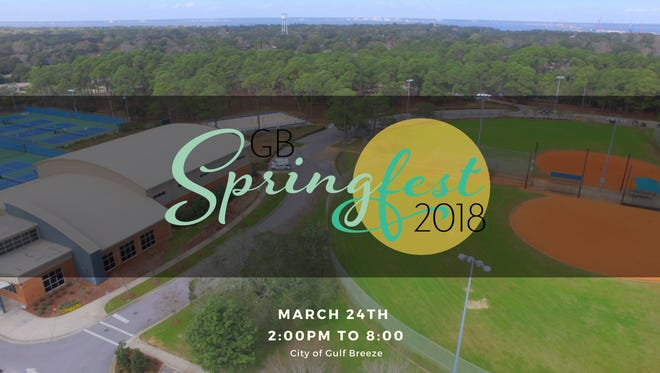 Gulf Breeze's inaugural Springfest will take place Saturday, March 24, 2018.