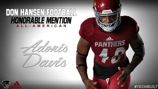 Adonis Davis, Florida Tech football