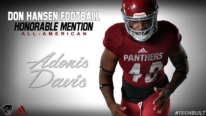 Adonis Davis, Florida Tech football