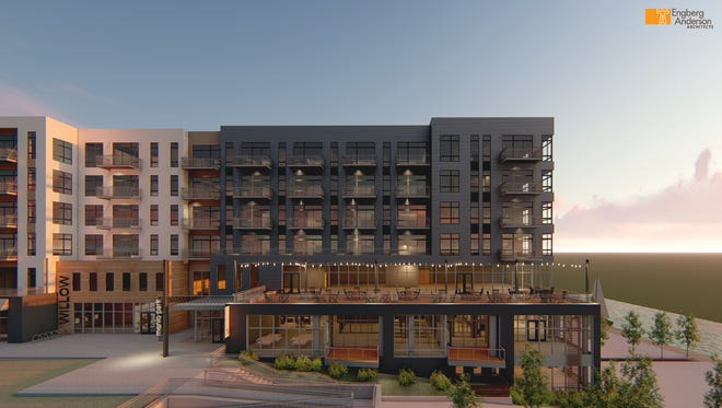 RiverHeath will break ground this spring on Willow, its largest mixed-use building to date.