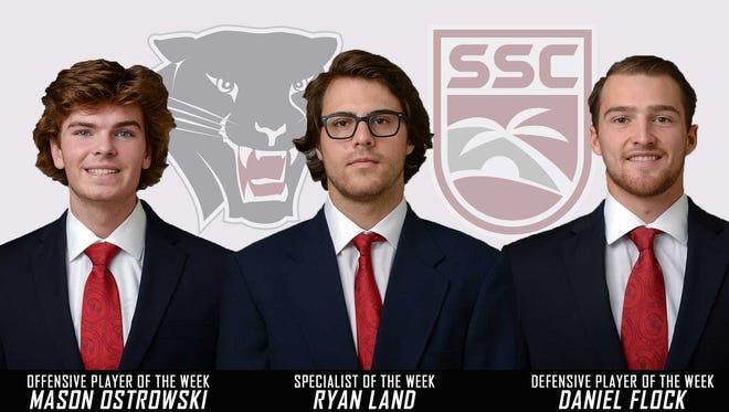 Florida Tech men's lacrosse sweeps SSC weekly awards.
