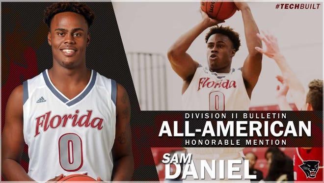 Florida Tech basketball's Sam Daniel names DII Honorable Mention All-American